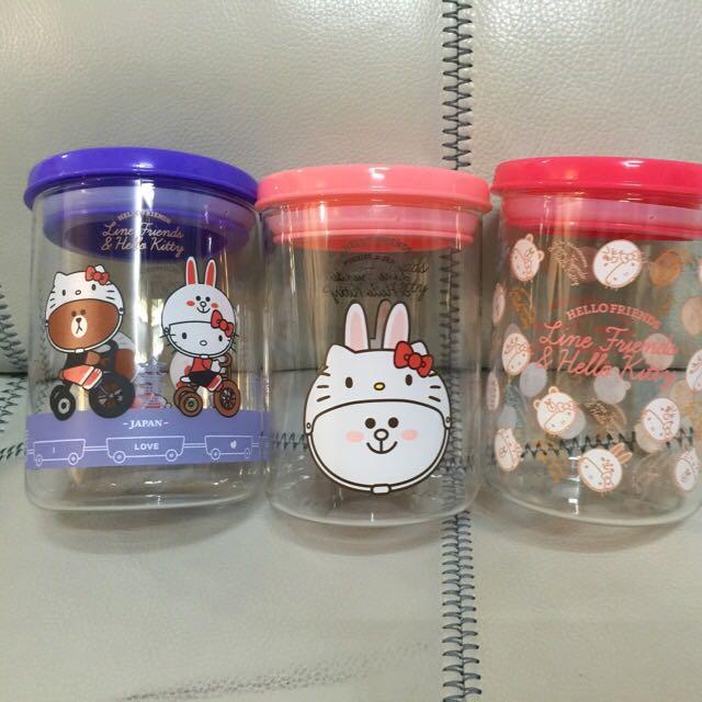 711 Hello Kitty 聯名耐熱玻璃罐