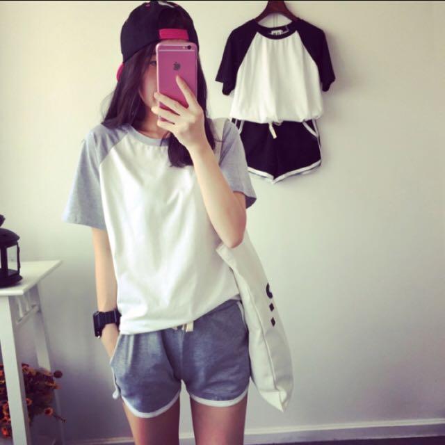 韓版運動套裝