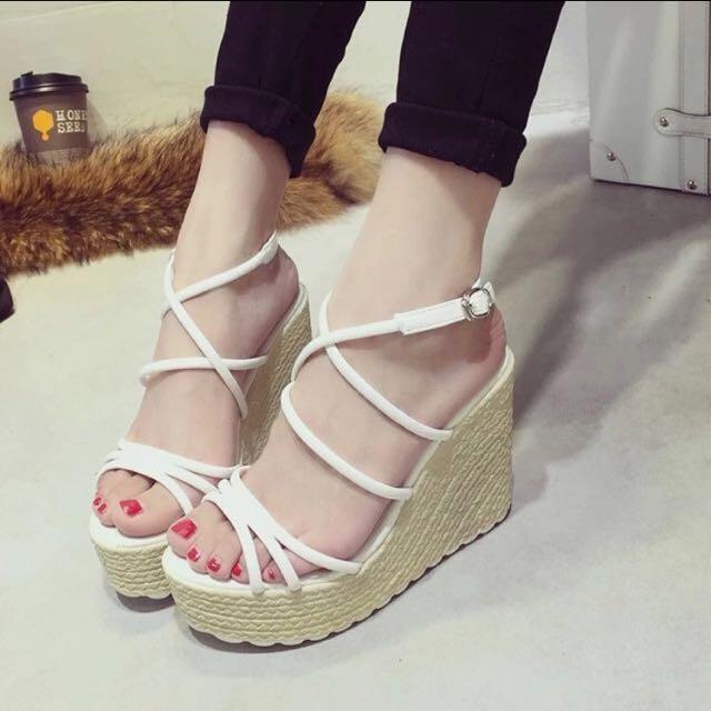 羅馬楔型鞋