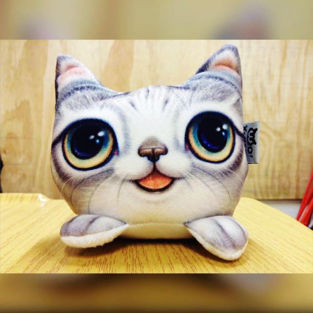 全新✨ 除臭碳貓咪造型 也可當娃娃