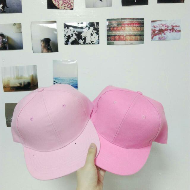 韓妞必備_夏日百搭素色棒球帽