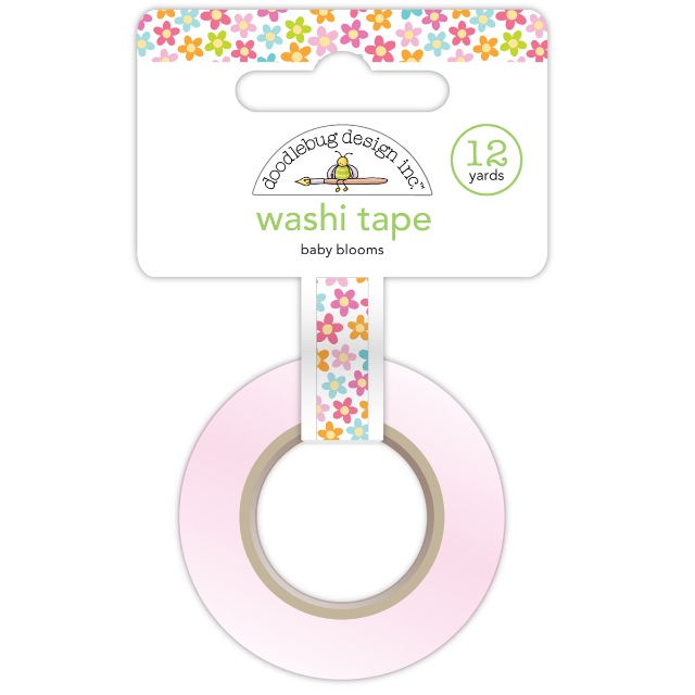 #1212 Baby Blooms Washi Tape