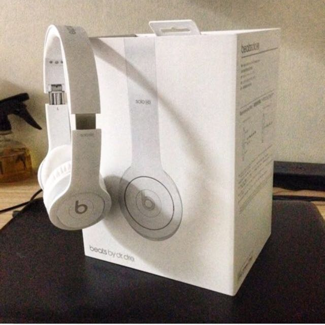 Beats By Dre Solo Limited Matte White Edition