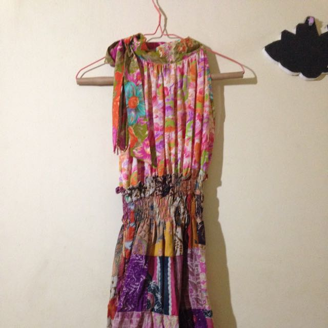 boutique dress batik quilt