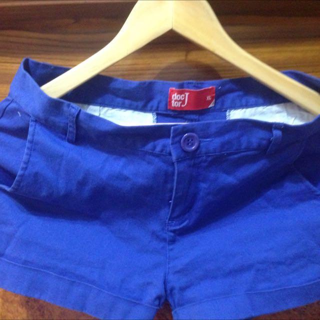 Doctor J藍色短褲