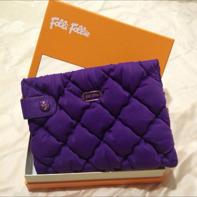 Follie Follie側背包(紫)