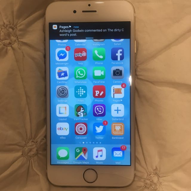 Gold 64gig Iphone 6