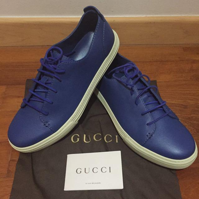 Gucci Miro Soft Periwinkle Shoes, Men's