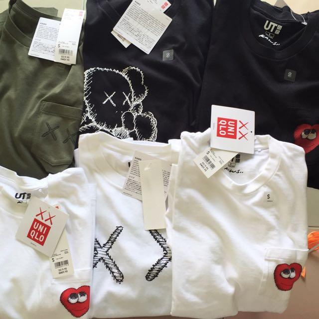KAWS x UNIQLO T Shirts