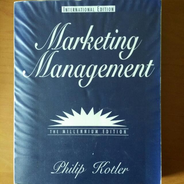Marketing Management By Philip Kotler Books Stationery On Carousell