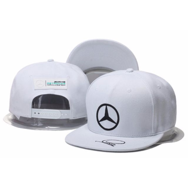 best price mercedes benz team petronas white baseball straight brim snapback  cap hat caps hats with 5ec7ee1794d9