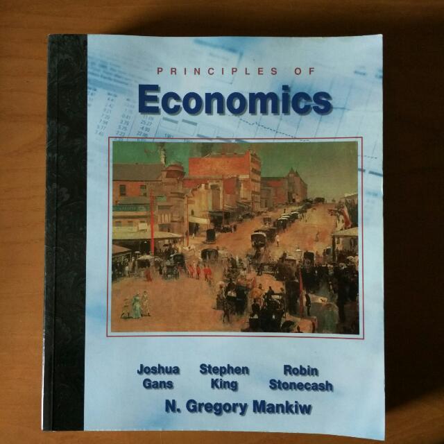 Principles Of Economics By Joshua Gans, Stephen King et al.