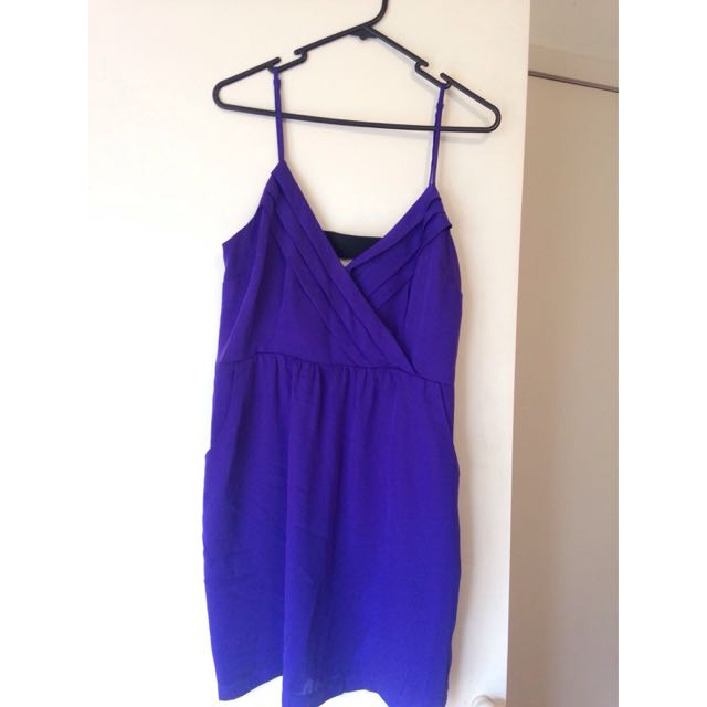 Purple Going Out Dress