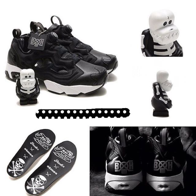 Reebok CLASSIC×BOUNTY HUNTER×PACKER SHOES×atmos INSTAPUMP FURY