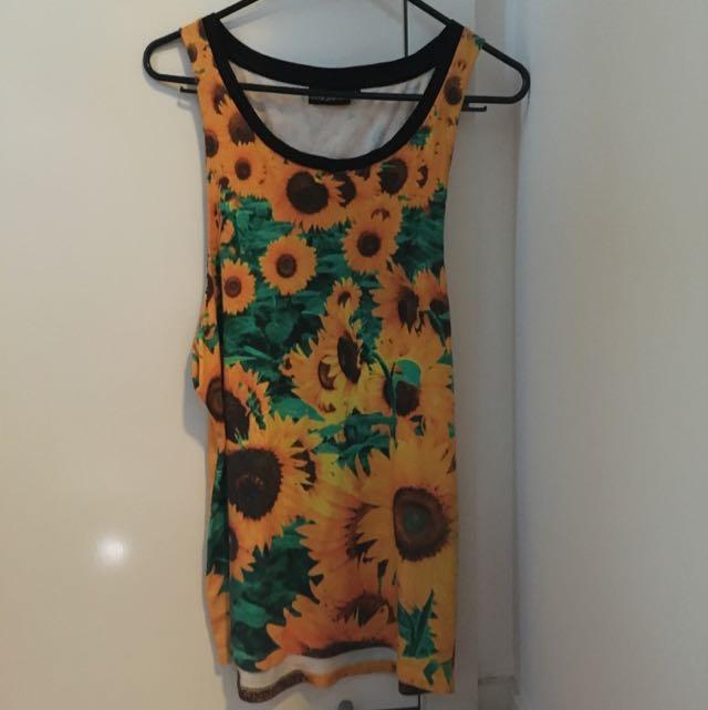 Sunflower Tank/dress