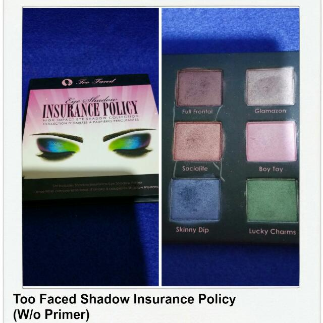 Too Faced Shadow Insurance Palette