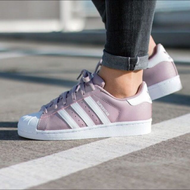 70172c457ca2c pending) Womens Adidas Superstar Original Blanch Purple