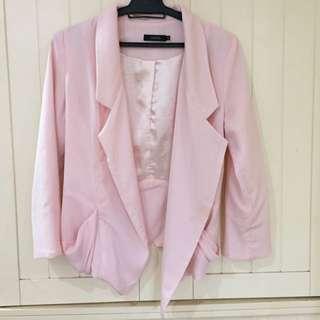 Pastel Pink Blazer Nichii