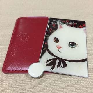 [REDUCED] Korean Jetoy Choo Choo Cat Design Pocket Mirror