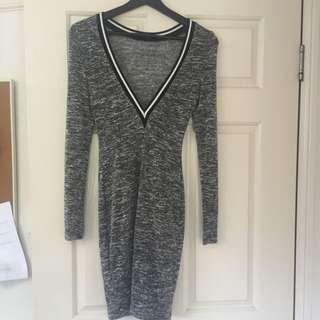 Low V Cut Back - Dress