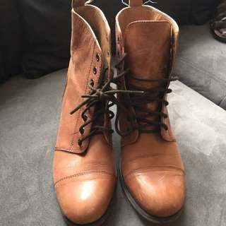 Toni Bianco Lace Up Boots