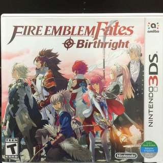 Fire Emblem Brightright 3ds Nintendo Game