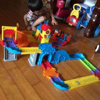 vtech玩具嘟嘟車 火車軌道