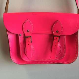 Authentic Cambridge Satchel Company Pink Bag