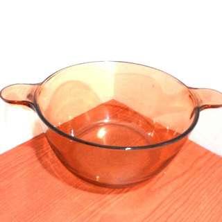 康寧 VISIONS 2.5L 透明鍋 玻璃鍋 二手