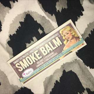 The Balm Cosmetics Smoke Balm Eyeshadow Palette