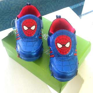 Brand New Spiderman Shoes