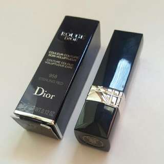 "Dior- Rouge Lipstick In ""Sterling Red"""