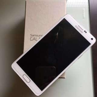 Note4 32G 4G LTE 白