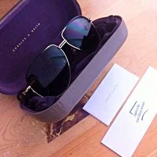Charles And Keith - Aviator Sunglasses