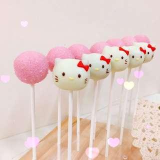 《預購》凱蒂貓 Hello Kitty  蛋糕棒棒糖 婚禮小物 活動點心 生日蛋糕 造型蛋糕 二次進場