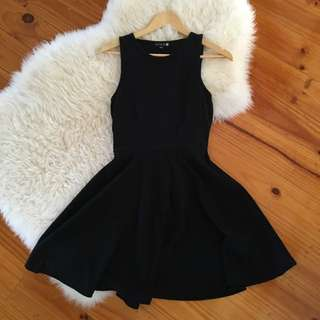 Cotton On - Black Skater Dress