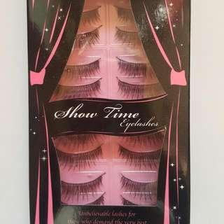 False Eyelashes- 10 pack