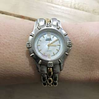 Ladies JAG watch Silver/gold Colour