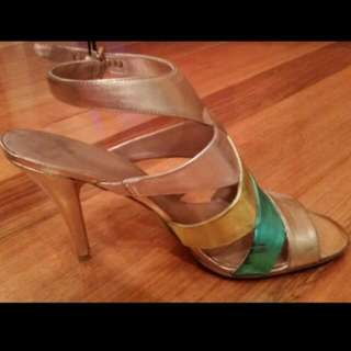 "Nine West - ""Man Made Material"" Heels, Size 10M"