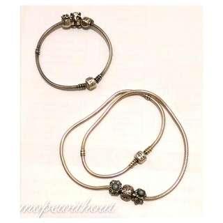 Pandora專櫃正品 潘朵拉 手環、項鍊