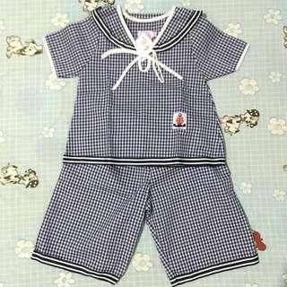 Sailor Top&pants For Kids (Unisex)