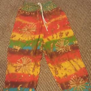 *REDUCED* Long Hippie Tie Dye Pants