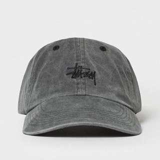正品 STUSSY SMOOTH STOCK ENZYME WASH HAT 水洗 老帽 棒球帽 附吊牌
