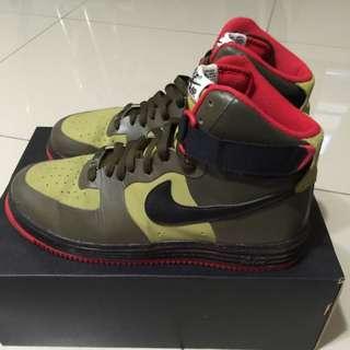 nike air force1 高筒鞋