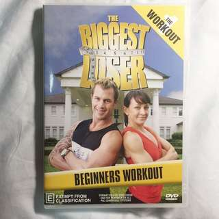 Exercise DVD - The Biggest Loser Beg fingers Workout