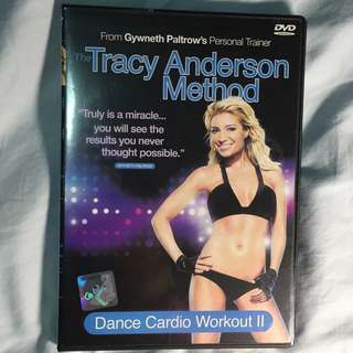 Exercise DVD - The Tracy Anderson Method
