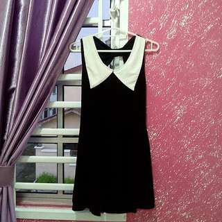 Free Postage Ribbon Backless Dress