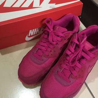 Nike Air Max桃紅鞋
