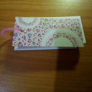 便條紙 單字卡