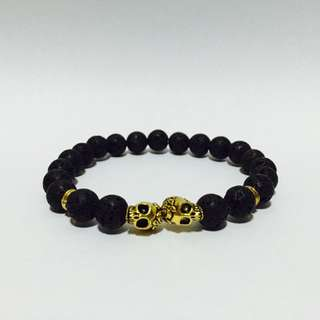 [$5] Twin Skull Bracelet